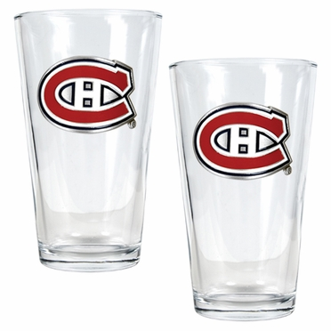 Montreal Canadiens 2 Piece Pint Glass Set