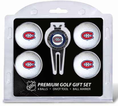 Montreal Canadiens 4 Ball and Tool Gift Set