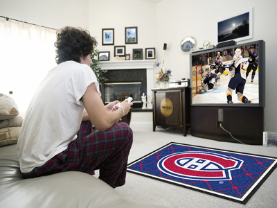 Montreal Canadiens 4 Foot x 6 Foot Rug