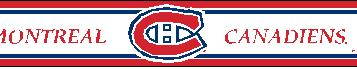 Montreal Canadiens 5.5 Inch (Height) Wallpaper Border