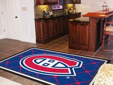 Montreal Canadiens 5 Foot x 8 Foot Rug