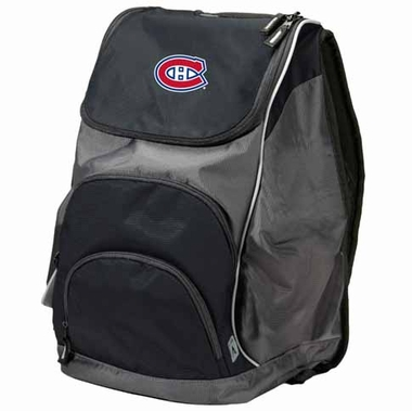 Montreal Canadiens Action Backpack (Color: Black)
