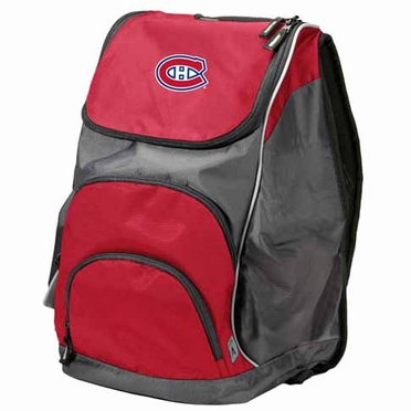 Montreal Canadiens Action Backpack (Color: Red)