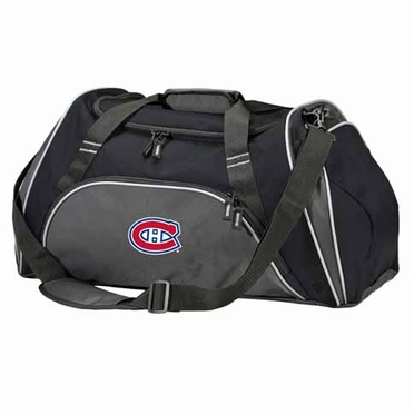 Montreal Canadiens Action Duffle (Color: Black)