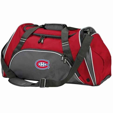 Montreal Canadiens Action Duffle (Color: Red)