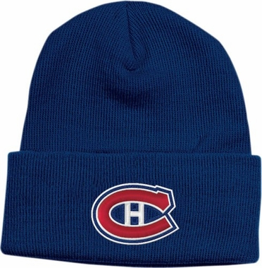 Montreal Canadiens Basic Logo Cuffed Knit Hat