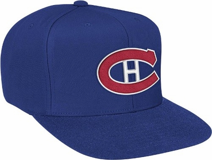 Montreal Canadiens Basic Logo Snap Back Hat