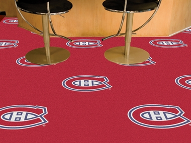 Montreal Canadiens Carpet Tiles