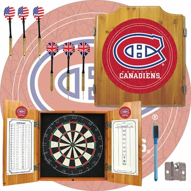 Montreal Canadiens Complete Dart Cabinet