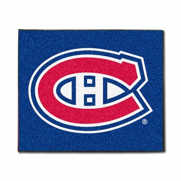 Montreal Canadiens Economy 5 Foot x 6 Foot Mat