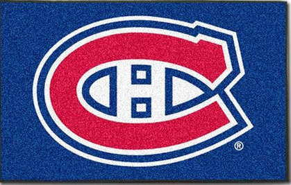 Montreal Canadiens Economy 5 Foot x 8 Foot Mat