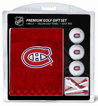 Montreal Canadiens Embroidered Towel Gift Set