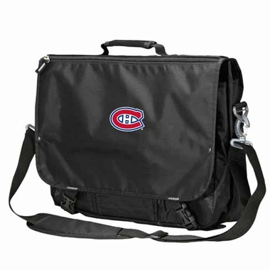 Montreal Canadiens Executive Attache Messenger Bag