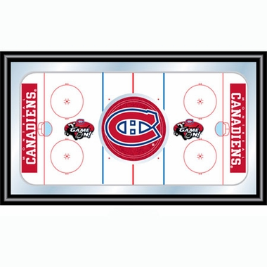 Montreal Canadiens Hockey Bar Mirror