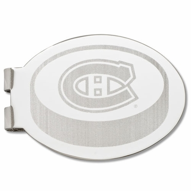 Montreal Canadiens Laser Engraved Money Clip