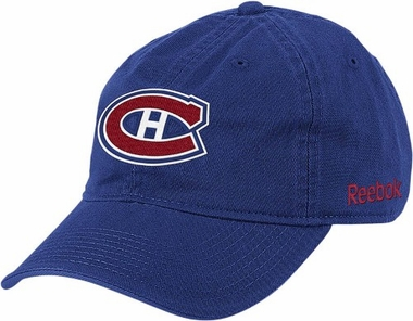 Montreal Canadiens Logo Team Slouch Adjustable Hat