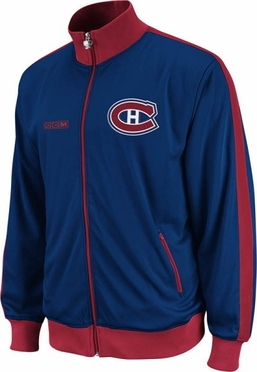 Montreal Canadiens Lord Stanley Full Zip Championship Track Jacket