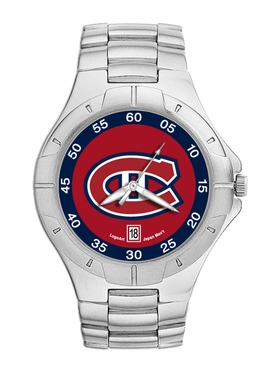 Montreal Canadiens Pro II Men's Stainless Steel Watch