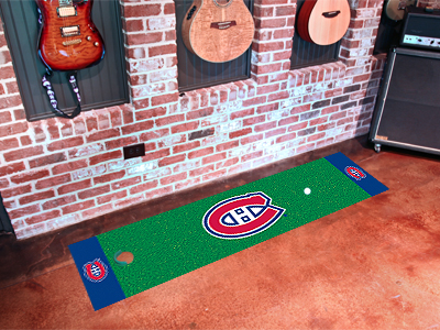 Montreal Canadiens Putting Green Mat