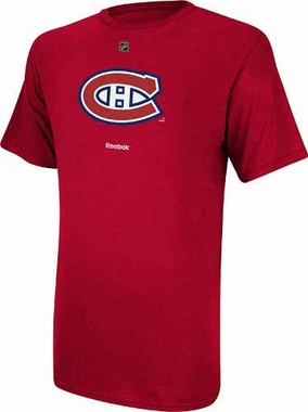 Montreal Canadiens Reebok Primary Logo T-Shirt - Red