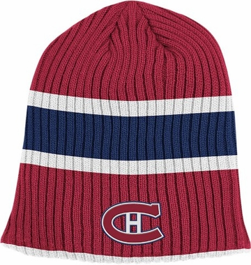 Montreal Canadiens Retro Reversible Cuffless Knit Hat
