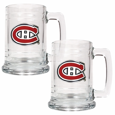 Montreal Canadiens Set of 2 15 oz. Tankards
