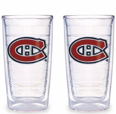 Montreal Canadiens Set of TWO 16 oz. Tervis Tumblers
