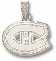 Montreal Canadiens Sterling Silver Pendant
