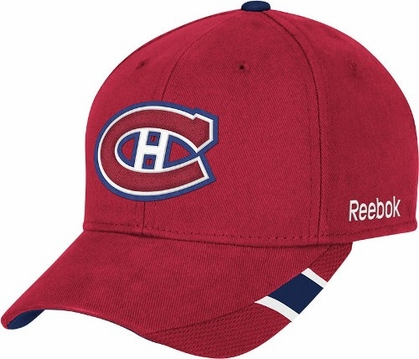 Montreal Canadiens Structured Adjustable Third Jersey Logo Hat