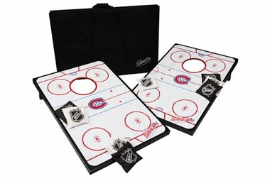 Montreal Canadiens Tailgate Toss Cornhole Beanbag Game
