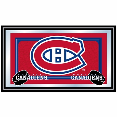 Montreal Canadiens Team Logo Bar Mirror