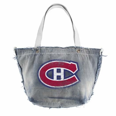 Montreal Canadiens Vintage Tote (Denim)