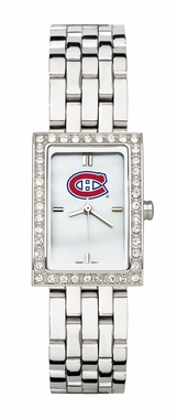 Montreal Canadiens Women's Steel Band Allure Watch