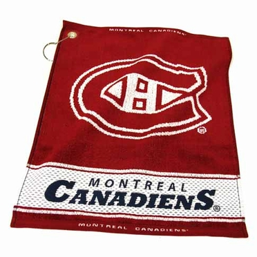 Montreal Canadiens Woven Golf Towel