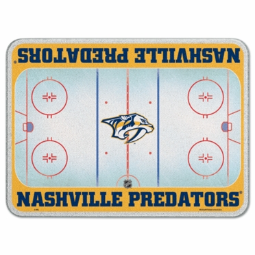 Nashville Predators 11 x 15 Glass Cutting Board