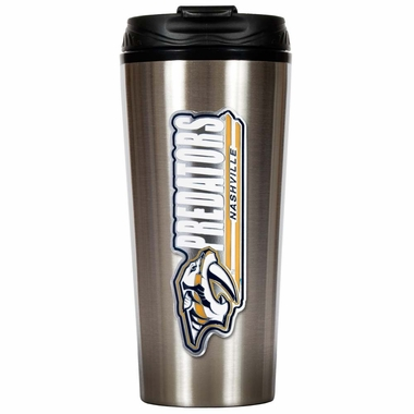 Nashville Predators 16 oz. Thermo Travel Tumbler