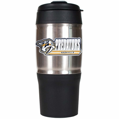 Nashville Predators 18oz Oversized Travel Tumbler