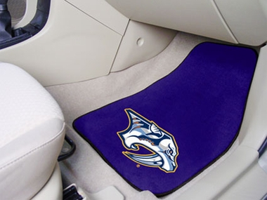 Nashville Predators 2 Piece Car Mats