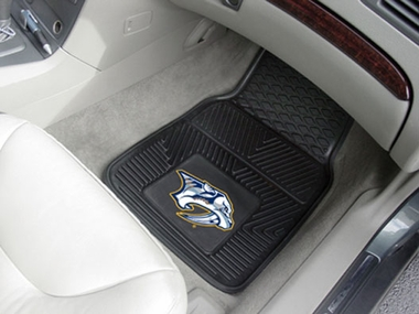 Nashville Predators 2 Piece Heavy Duty Vinyl Car Mats