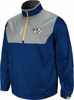 Nashville Predators 2012 1/4 Zip Performance Hot Jacket