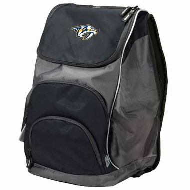 Nashville Predators Action Backpack (Color: Black)