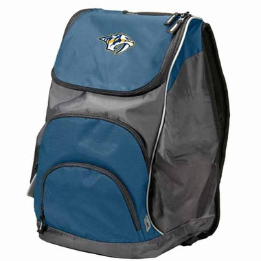 Nashville Predators Action Backpack (Color: Navy)