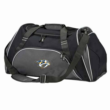 Nashville Predators Action Duffle (Color: Black)