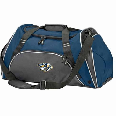 Nashville Predators Action Duffle (Color: Navy)