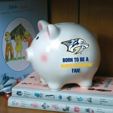 Nashville Predators (Born to Be) Piggy Bank