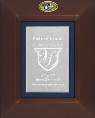 Nashville Predators BROWN Portrait Picture Frame