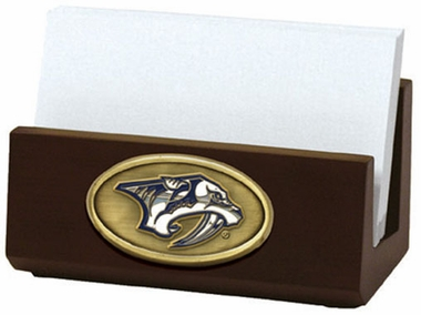 Nashville Predators Business Card Holder