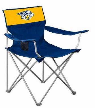 Nashville Predators Canvas Adult Folding Logo Chair