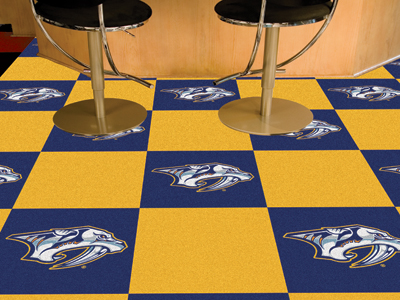 Nashville Predators Carpet Tiles