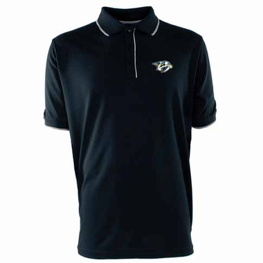 Nashville Predators Mens Elite Polo Shirt (Team Color: Navy)